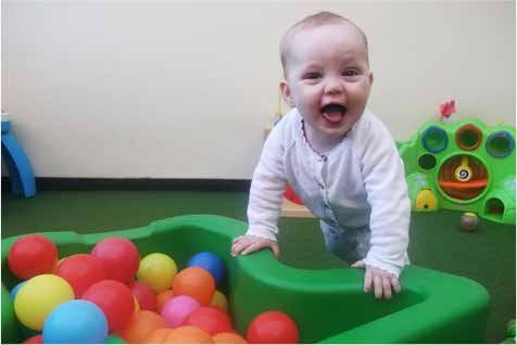 Childcare - Baby Playing