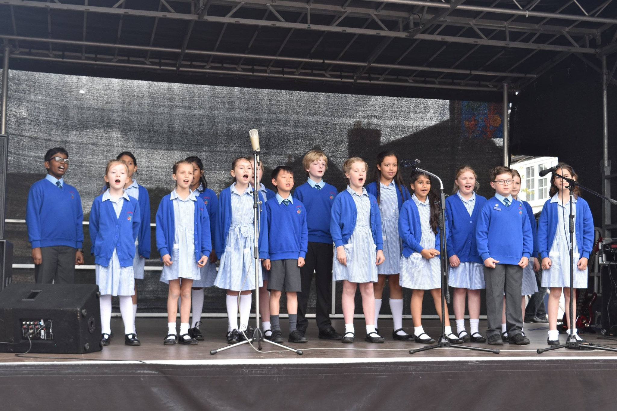 Choir Takes Centre Stage at Cricklade Festival