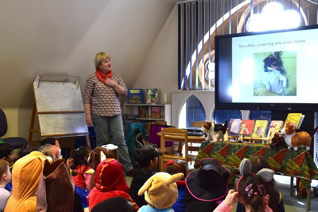 Author visits Meadowpark on World Book Day