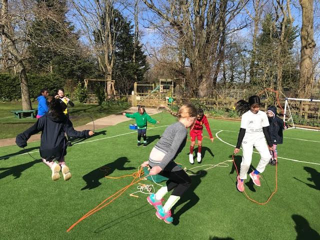 School works up a sweat for Sports Relief