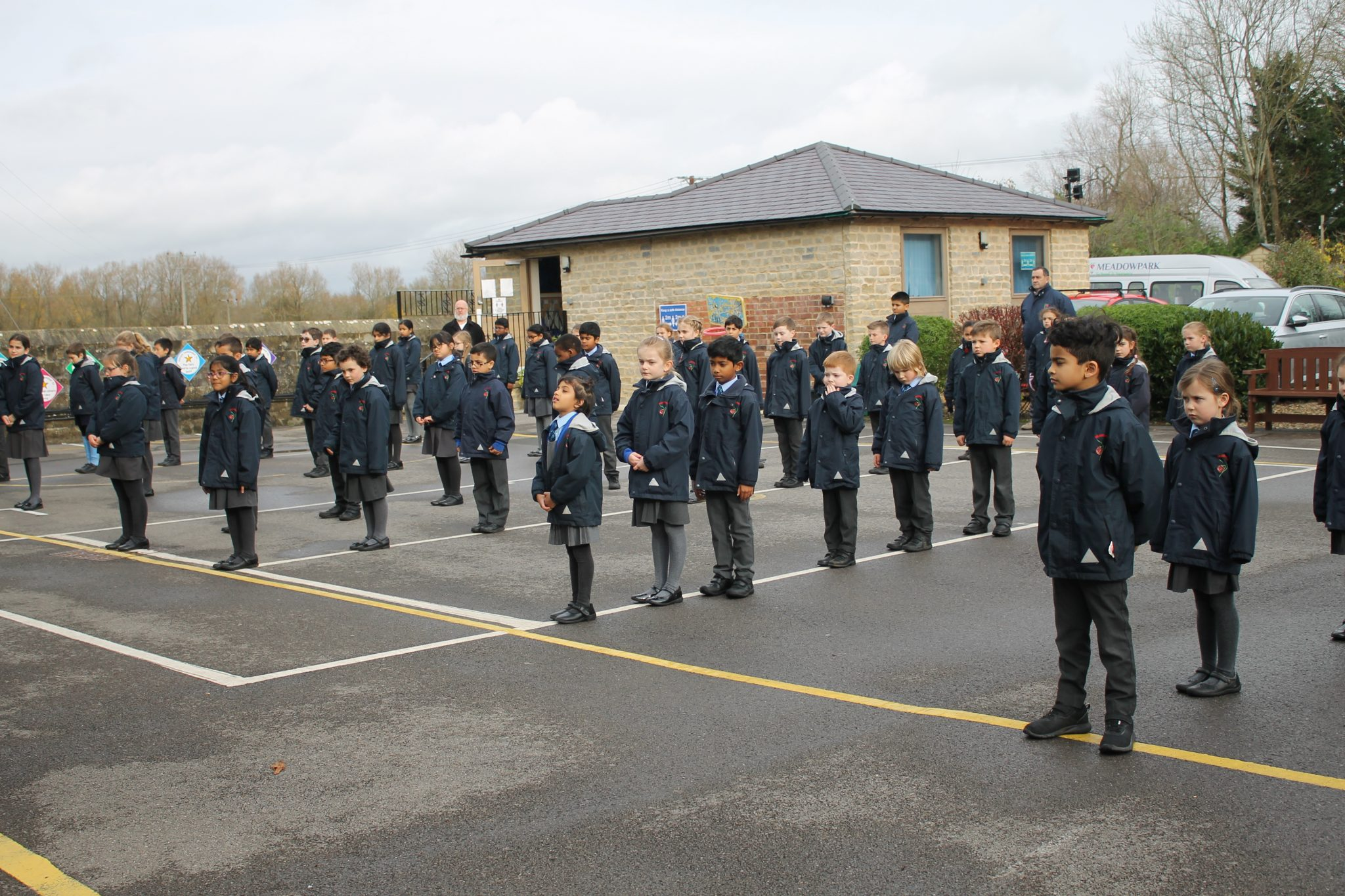 Remembrance at Meadowpark School